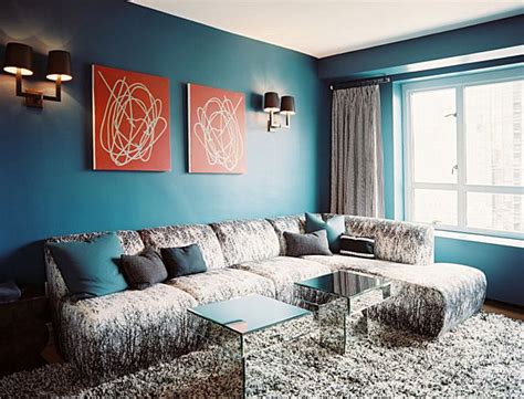 teal living room walls from navy to aqua summer decor in shades of blue