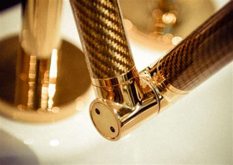 kohler karbon faucet gold kohler karbon faucet the kitchen designer
