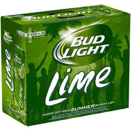 bud light 30 pack bud light lime 12 fl oz 30 pack walmart