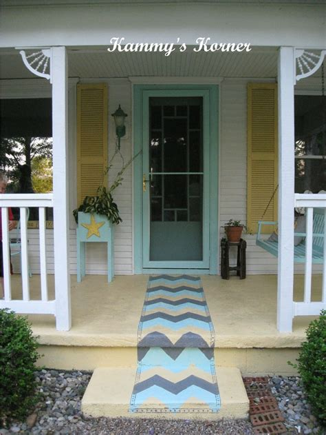 front porch rugs 78 best images about painted rugs on concrete on