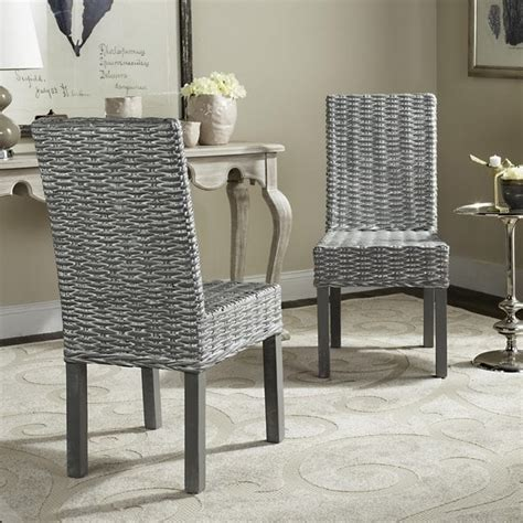 Shop Safavieh Rural Woven Dining Wheatley Grey Washed