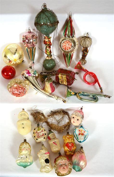 antique glass christmas ornaments tis  season