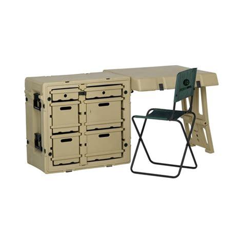 Office Desk Nsn by Pelican Hardigg Single Field Desk Ii With Chair Allcases