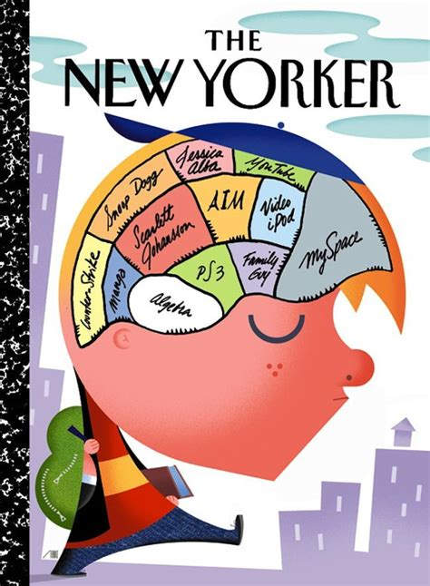 Cover of The New Yorker TEENAGER'S BRAIN | New yorker ...