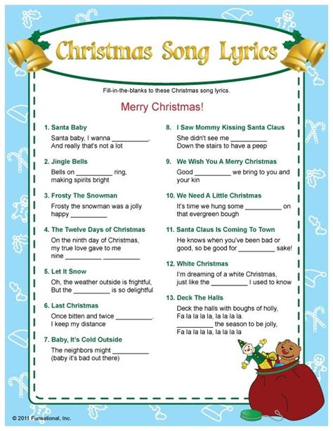 25 best printables christmas images on pinterest