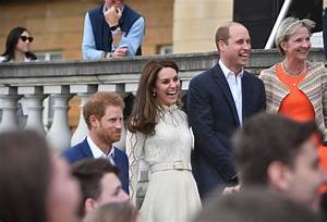 Prince Harry and Kate Middleton lead the fun at Buckingham ...
