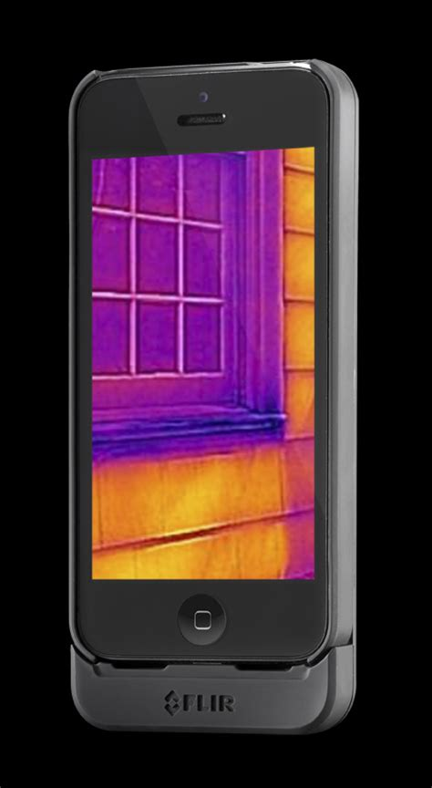 flir thermal iphone flir one a personal thermal imaging device for the iphone