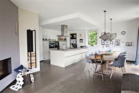 Wohnzimmer Mit Küche Ideen by Wohnzimmer Mit Offener K 252 Che
