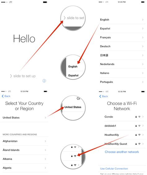 how do i set up my new iphone how to setup an iphone or ipad as new imore how d