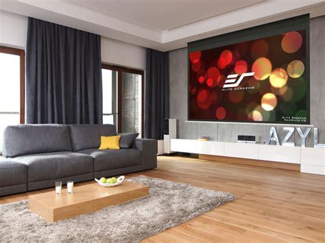 elite screens evanesce  series recessed ceiling