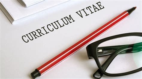 How To Update Your Cv by Curriculum Vitae For