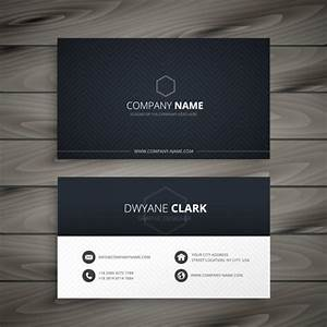 Black And White Cards Black And White Business Card Vector Free Download