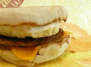 McDonald's Sausage Egg McMuffin « Food In Real Life