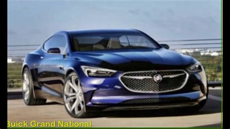Buick Gnx Concept by 2018 Buick Grand National Gnx Exterior Concept
