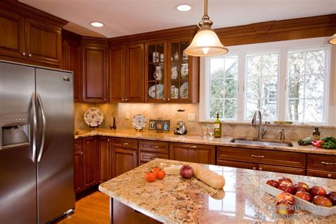 kitchen with brown cabinets kitchen colors with brown cabinets 8745