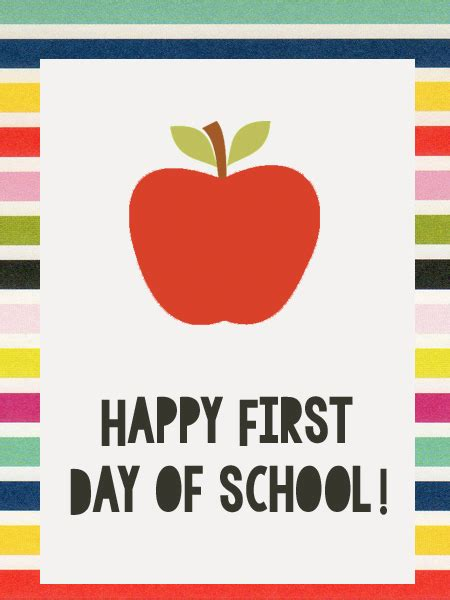 Happy First Day Of School Tag  Just Make Stuff Go