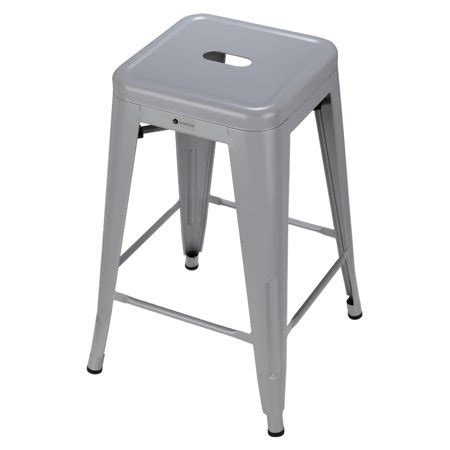 walmart kitchen stools homegear 4 pack stackable metal kitchen stools chairs