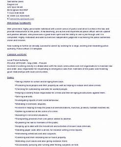 Police Officer Resume Example Free 7 Sample Police Officer Resume Templates In Ms Word