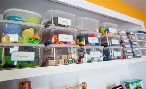 Clear-storage-bins-for-kids-room-home Decorating Trends