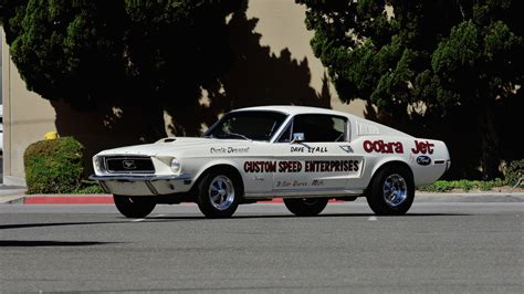 Mustang Cobra Jet 1968 by Auction Bound 1968 Ford Mustang Cobra Jet Is One Of Just 50