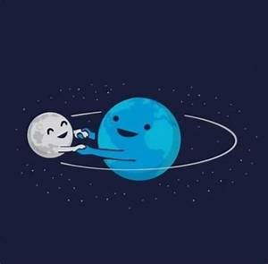 cute moon stars sun earth planets Astronomy earth day ...