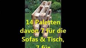 Gartenmöbel Aus Paletten : gartenm bel aus euro paletten youtube ~ Whattoseeinmadrid.com Haus und Dekorationen
