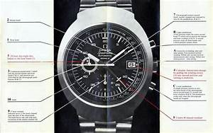 Omega Chronograph Instructions  Directions