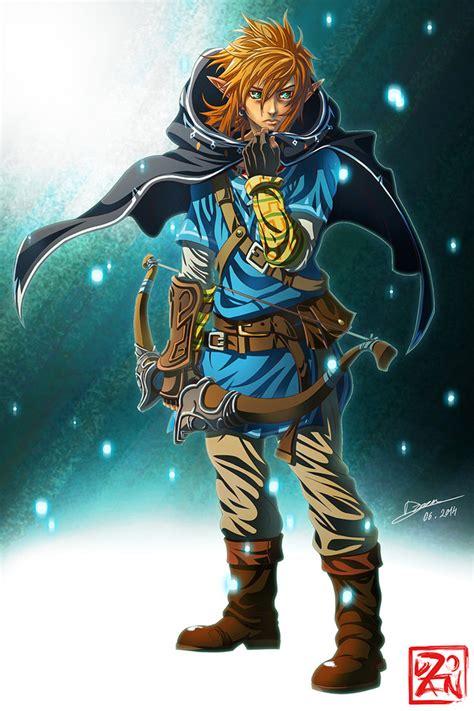 The Legend Of Zelda Breath Of The Wilds Link By Dzoan On