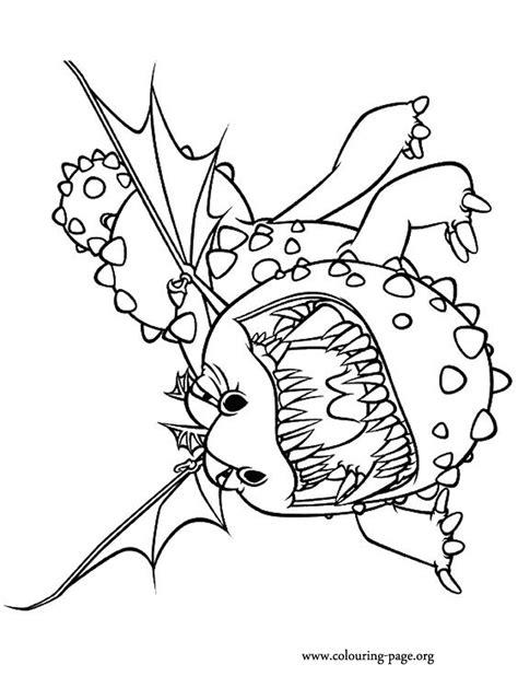 train  dragon gronckle coloring page