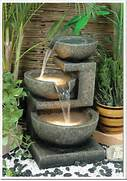 Cascading 3 Tier Modern Rock Water Fountain Outdoor Fountain For Enhancing Your Garden S Beauty Stone Fountain Fountain On Pinterest Garden Fountains Water Fountains And Water Water Features For Any Budget Landscaping Ideas And Hardscape Design