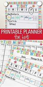 How To Make A Weather Chart For Classroom Rock Your Routine With A Printable Planner For Kids