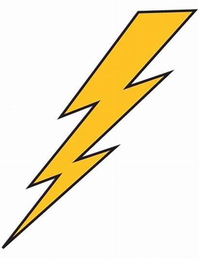 Lightning Bolt Yellow Transparent Clipart Flash Clip