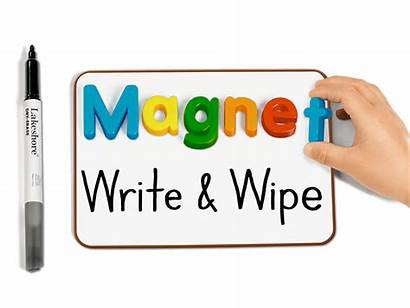 Magnetic Wipe Board Write Mini Lakeshore Close