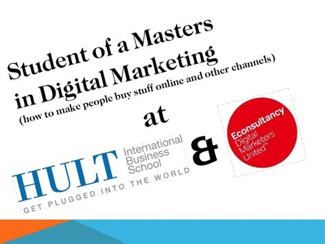 masters in digital marketing europe who am i digital marketing graduate student