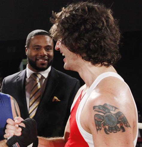 Trudeau was inked when he was in his 20s. Canada's New Prime Minister Rocks a Pretty Epic Raven Tattoo- PopStarTats