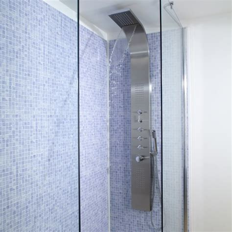 Shower Jet System by Shower Tower Panel System With Waterfall And Jet