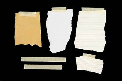 Tape Paper Torn Note Blank