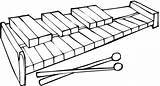 Xylophone Coloring Pages Clipart Clip Printable Piano Instruments Template Cliparts Library Music Clipartbest Categories Sketch sketch template