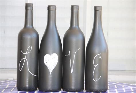 wine bottle desperate craftwives chalkboard wine bottles