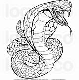 Drawing Snake Snakes Reptiles Costume Coloring Adult Adults sketch template