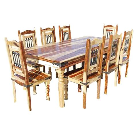 unfinished dining room table dallas classic solid wood rustic dining room table and