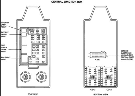 Fuse Box On 1999 Ford F 150 by I A 1999 F150 4x4 5 4l It S Supposed To 4