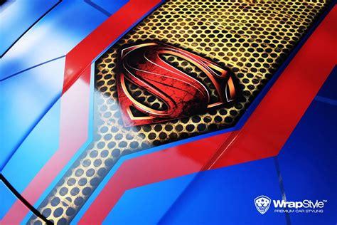 wrapstyle shows  superhero foil  supercars carscoops