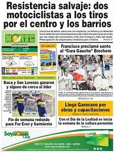 Peri U00f3dico Diario Norte  Argentina   Peri U00f3dicos De Argentina  Edici U00f3n De Lunes  17 De Octubre De