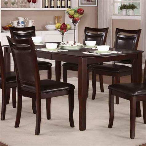 cherry dining table homelegance maeve extension dining table in dark cherry