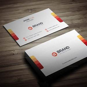 Horizontal vertical business card template 5 template for Horizontal business cards