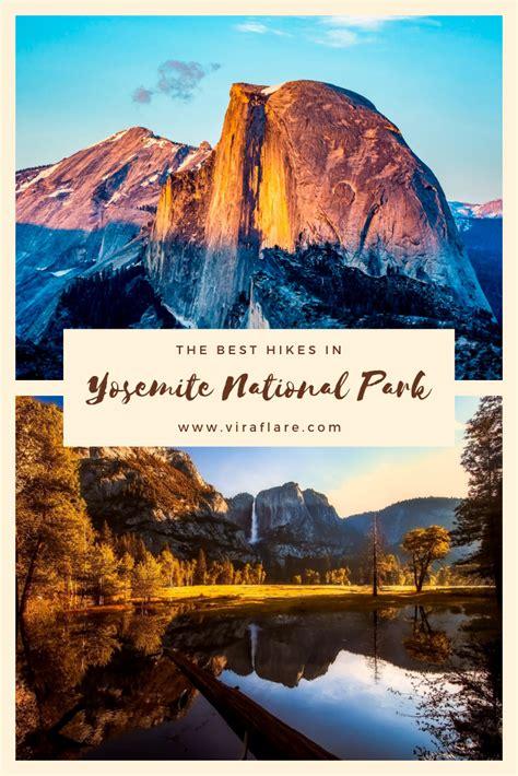 yosemite national park hikes hiking trails falls