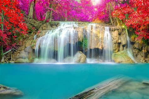 diy frame thailand parks waterfalls erawan waterfall
