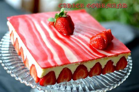 fraisier et d 233 cor marbr 233 en p 226 te d amande cahier gourmand