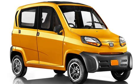 Smallest Car Price by Bajaj Qute Re60 Small Car Price Specs Review Pics